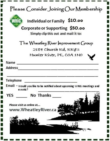 WRIG membership form