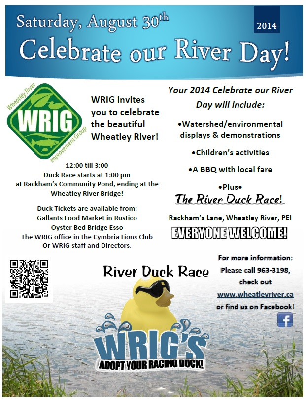 Celebrate our river 2014 poster